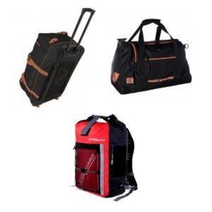 Maletas, mochilas y bolsas de agua